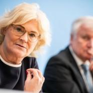 Polizei: Justizministerin Lambrecht fordert Einlenken von Seehofer