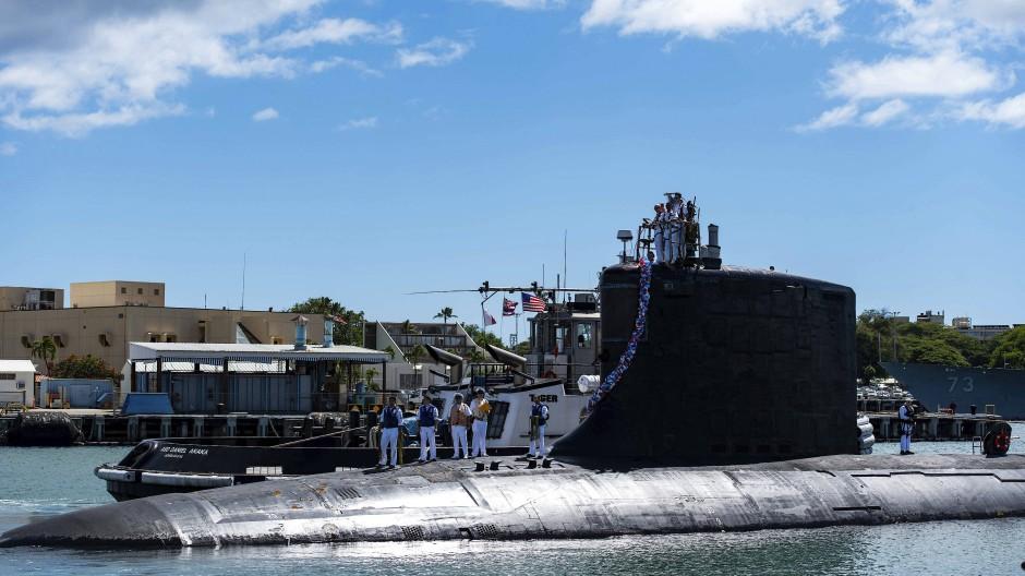 Neuer Sicherheitspakt mit Amerika und Großbritannien: Australien erhält amerikanische U-Boote der Virginia-Klasse wie das USS Illinois mit Atomantrieb.