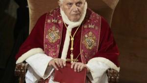 Der Papst will keinen, der mit ihm spricht