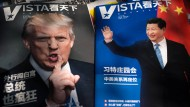 Auch in chinesischen Magazinen ist das Treffen zwischen Trump und Xi ein Thema.