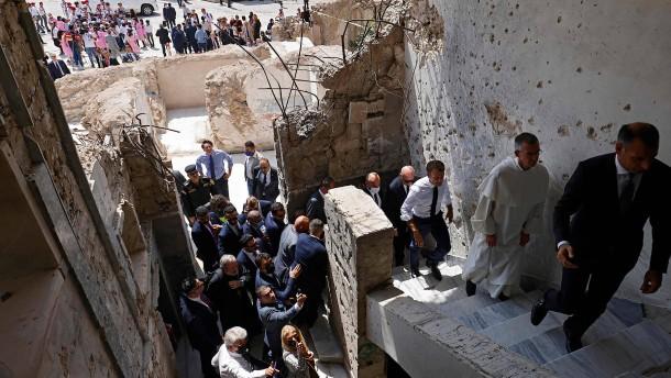 Wie sich Macron für Christen im Irak einsetzt