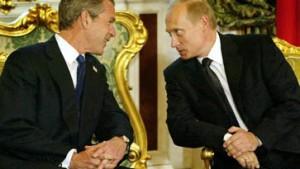 Bush und Putin unterzeichnen Abrüstungsvertrag