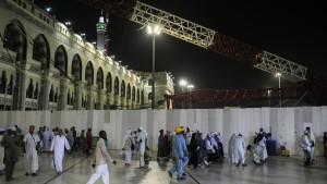 Unglückskran von Mekka stammt aus Deutschland