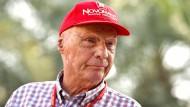 Geschenkt hat er eigentlich noch nie etwas: Niki Lauda