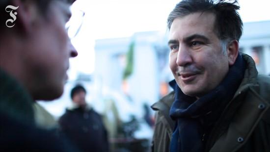 Micheil Saakaschwili im F.A.Z.-Gespräch