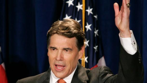 Rick Perrys Heilsversprechen aus Texas