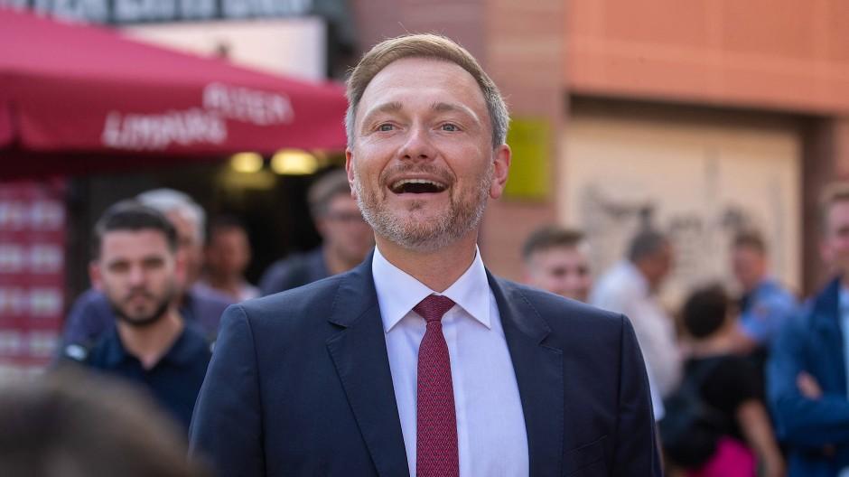 Zweitstimmenkampagne war gestern: FDP-Spitzenkandidat und Parteivorsitzender Christian Lindner
