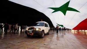 Beobachter angeblich in Syrien verletzt