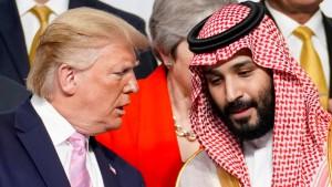 Amerika geht auf Distanz zu Saudi-Arabien