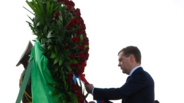 Russland als Friedensstifter