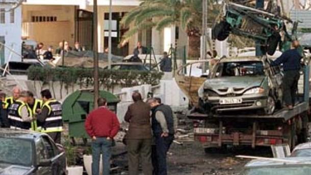 Bombenanschläge in spanischen Touristenorten