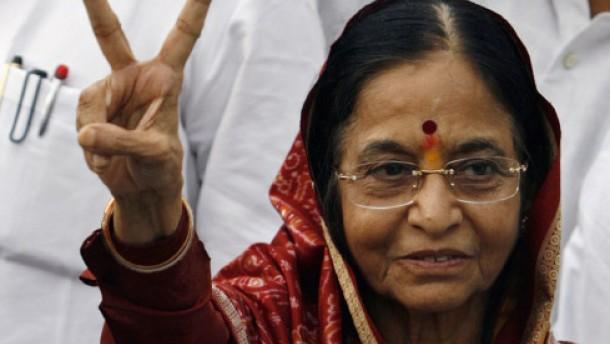 Indien hat erstmals eine Präsidentin