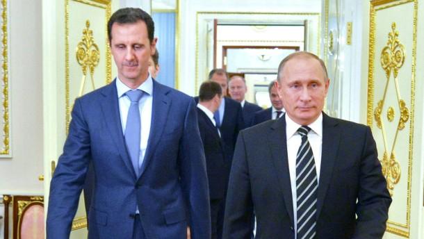 Nach dem Drehbuch Putins