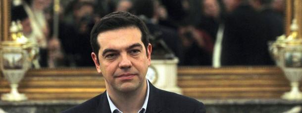 Der neue griechische Premierminister Alexis Tsipras