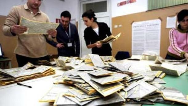 Zur Überprüfung der Wahlzettel 48 Stunden Zeit