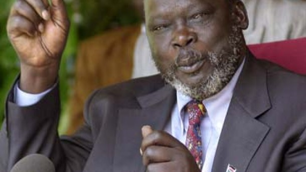Sudans Vizepräsident John Garang tot
