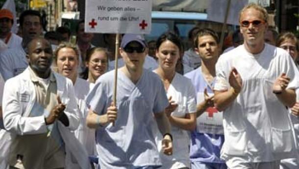 Ärzte wollen ihre Streiks ausweiten