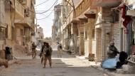 Schwere Kämpfe um Palmyra