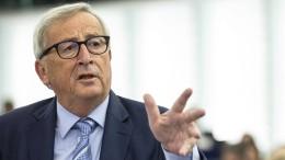 Juncker: Bekämpft den dummen Nationalismus