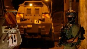 Israelische Armee nimmt 80 Palästinenser fest