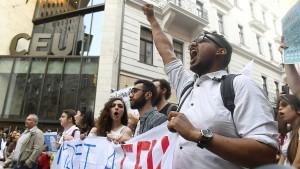 Ungarns Jugend wehrt sich