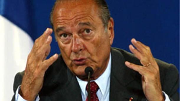Chirac schlägt Ultimatum an Saddam vor