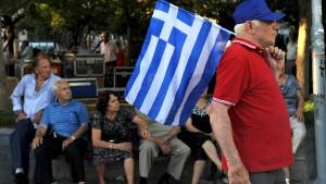Alexis Tsipras als Mittelstürmer?