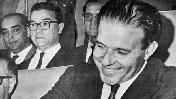 Leiche des früheren Präsidenten Goulart exhumiert