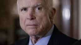 Spott über kranken McCain löst Fassungslosigkeit aus