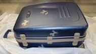 Der Koffer, in dem die Leichen gefunden wurden