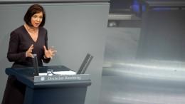 Katrin Göring-Eckardt fordert staatlichen Klimafonds