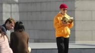 Rätselhaftes Verschwinden: Das am 19. Dezember 2013 aufgenommene Foto zeigt den in China geborenen, kanadischen Milliardär und Geschäftsmann Xiao Jianhua vor dem Internationalen Finanzzentrum in Hongkong.