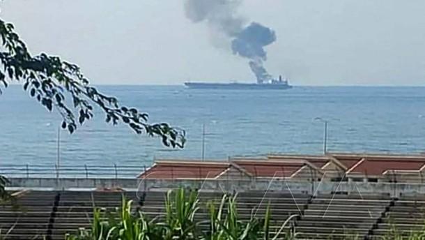 Drei Tote bei Drohnen-Angriff auf Öltanker