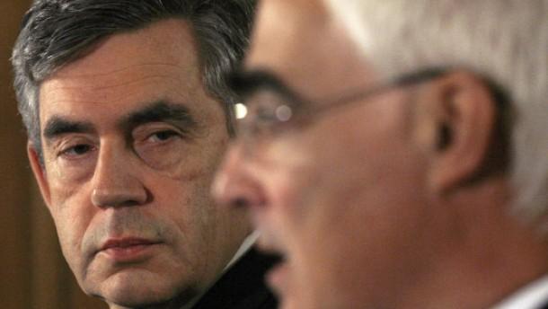 Finanzweltenretter Gordon Brown