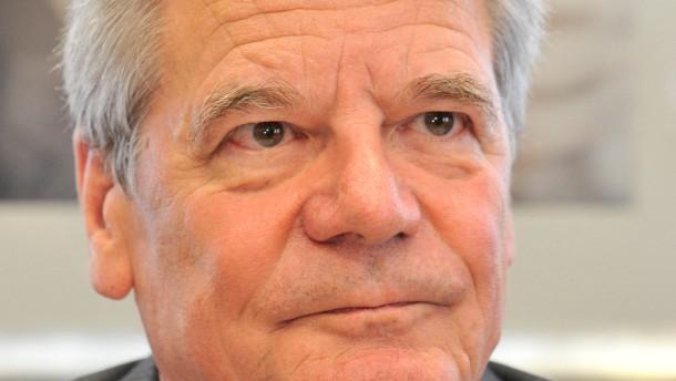 Gauck mahnt