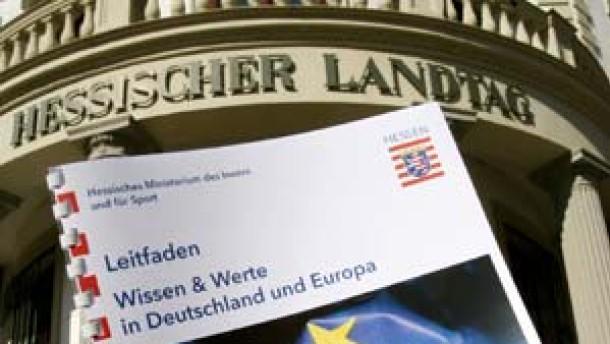 """""""Einbürgerungs-Fragebogen"""" in Hessen"""