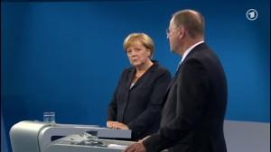 Merkel gegen Steinbrück