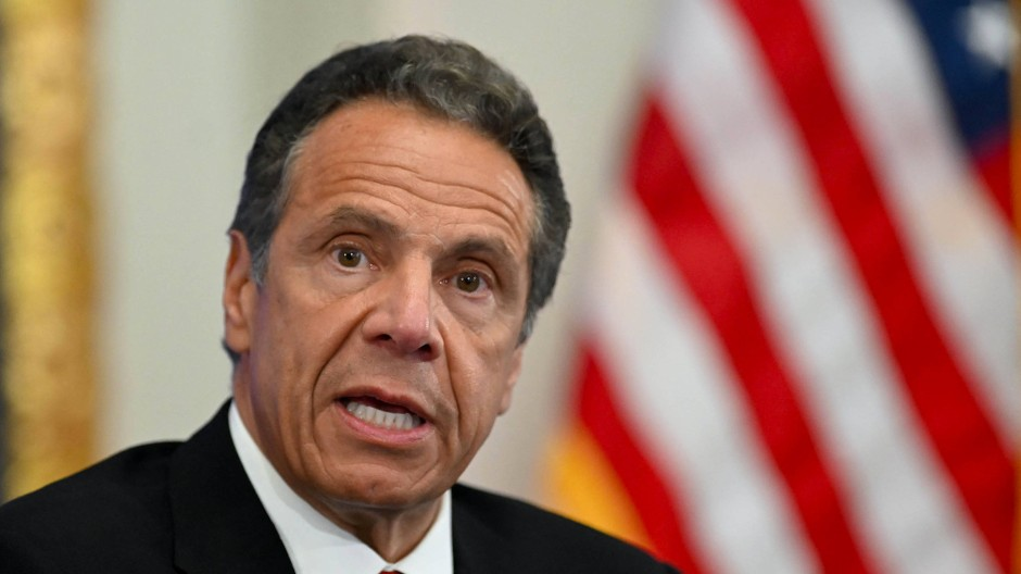 Andrew Cuomo im May 2020