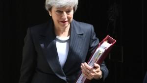 Opposition zerreißt Mays neuen Brexit-Vorstoß