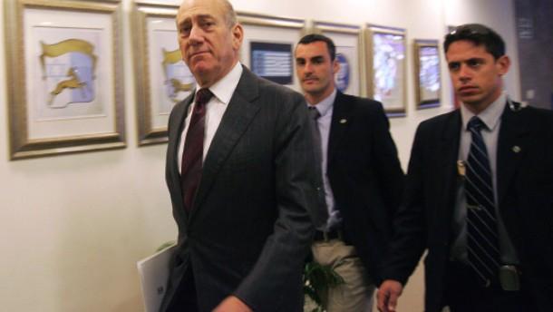 Olmert droht Hamas mit Vergeltung