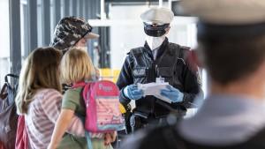 Tourismusbeauftragter für Grenzkontrollen