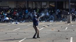 Südafrika sucht die Rädelsführer