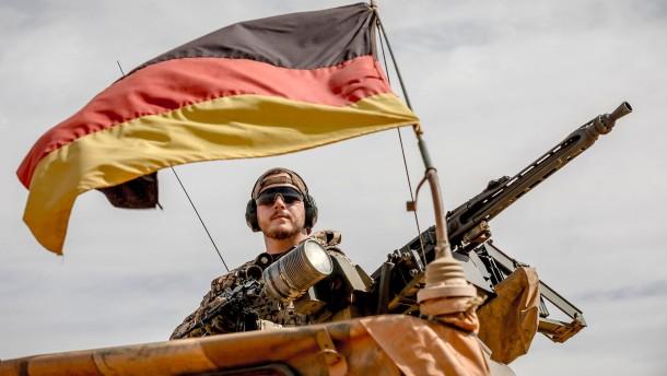 Fünf deutsche Soldaten in Mali verletzt