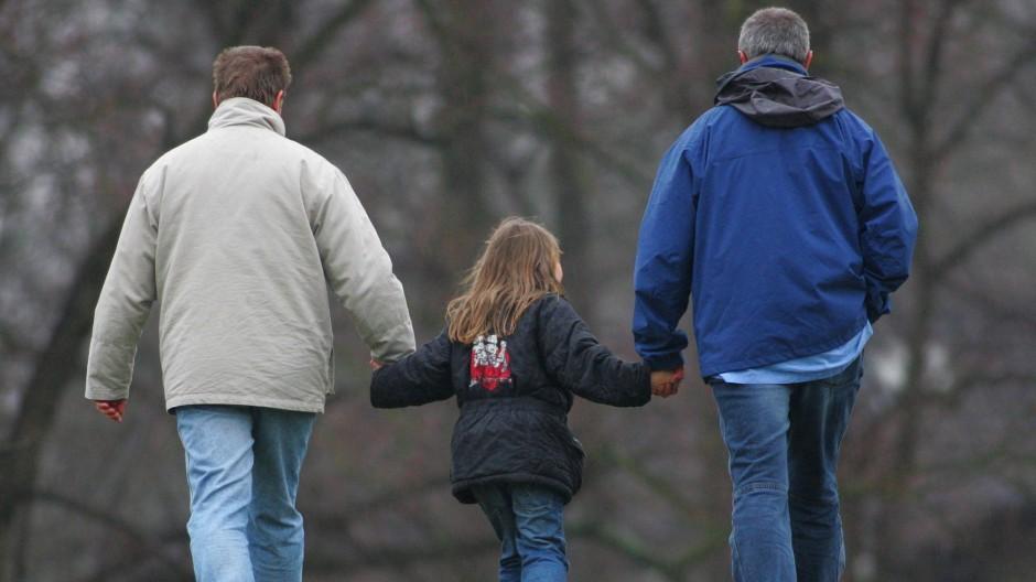 In den Koalitionsverhandlungen noch immer heftig umstritten: das volle Adoptionsrecht für gleichgeschlechtliche Paare
