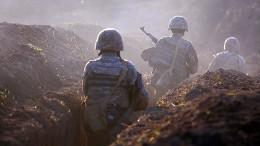 Schwere Gefechte in Berg-Karabach