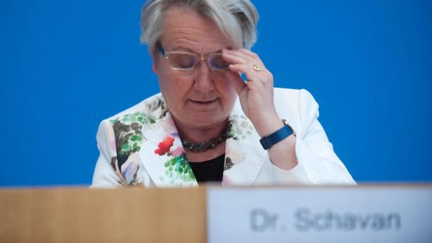 ... geht weiter: Annette Schavan ist Thema in den Feuilletons Keystone