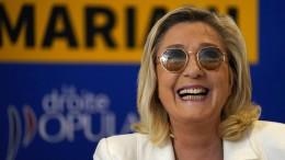 Marine Le Pen hat sich verkalkuliert