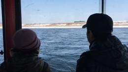 Mit dem Boot über den Yalu