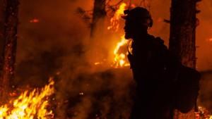 Video der Feuerwehr zeigt gefährliche Löscharbeiten