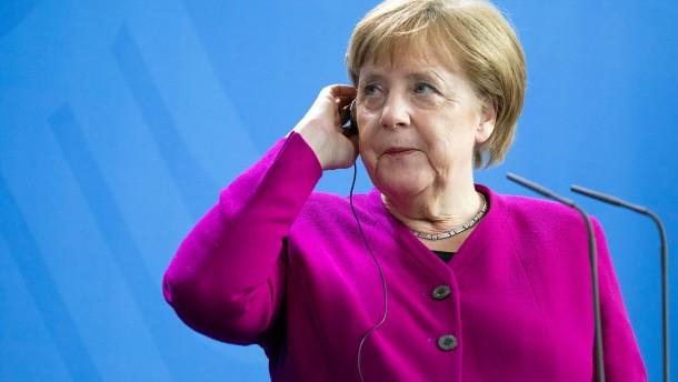 Merkel steht für kein weiteres politisches Amt zur Verfügung